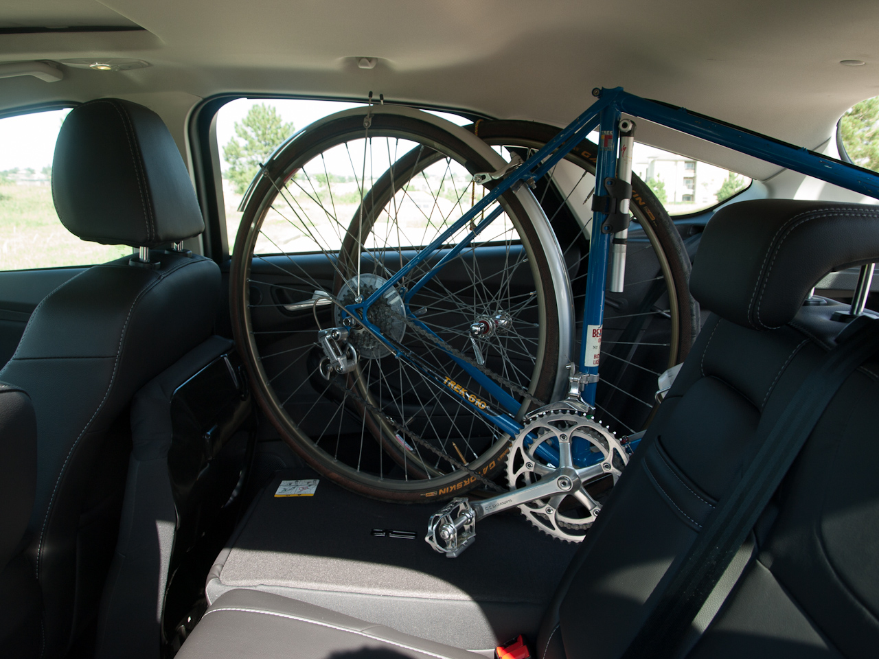 Interior Bike Rack For A 2012 Ford Focus Hatchback Steve