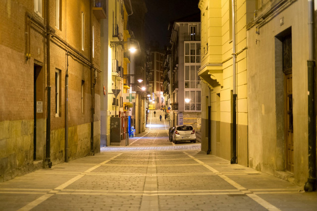 Pamplona side street