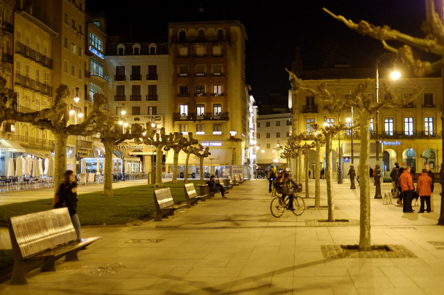 Pamplona city center