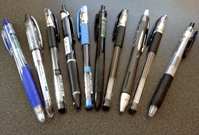 A Variety of Pens