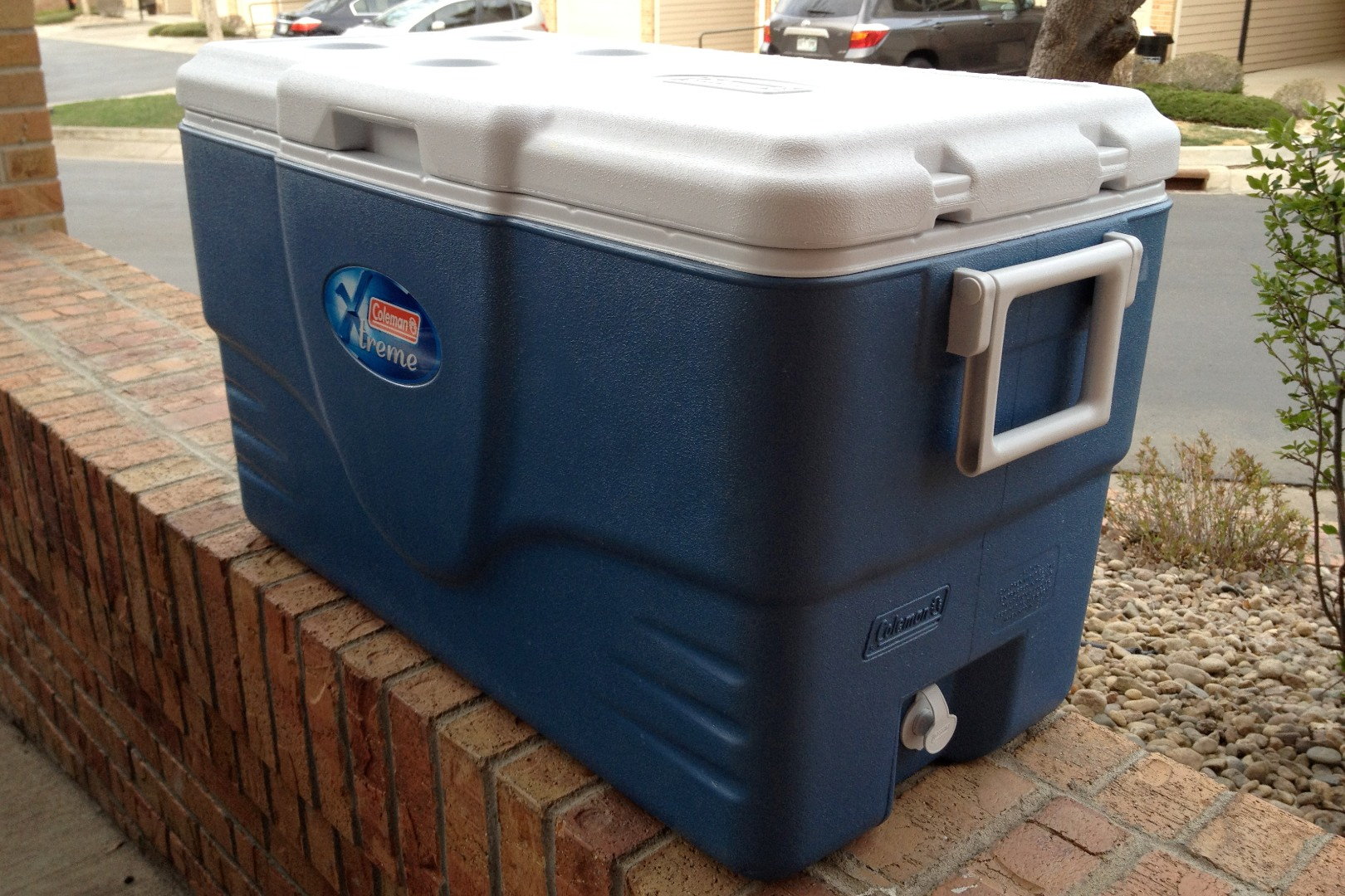 15 Gallon Cooler : Building a mash tun steve block