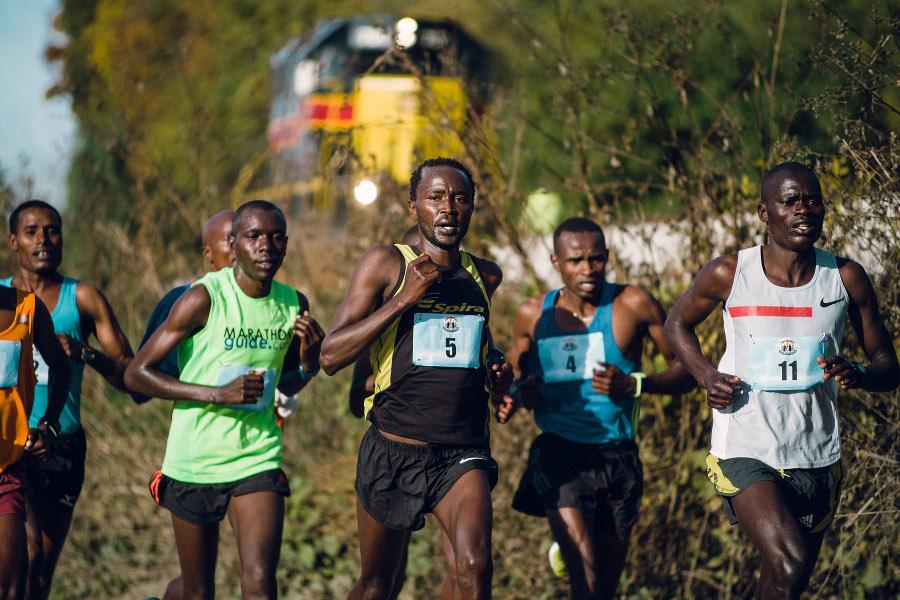 Des Moines Marathon elite racers