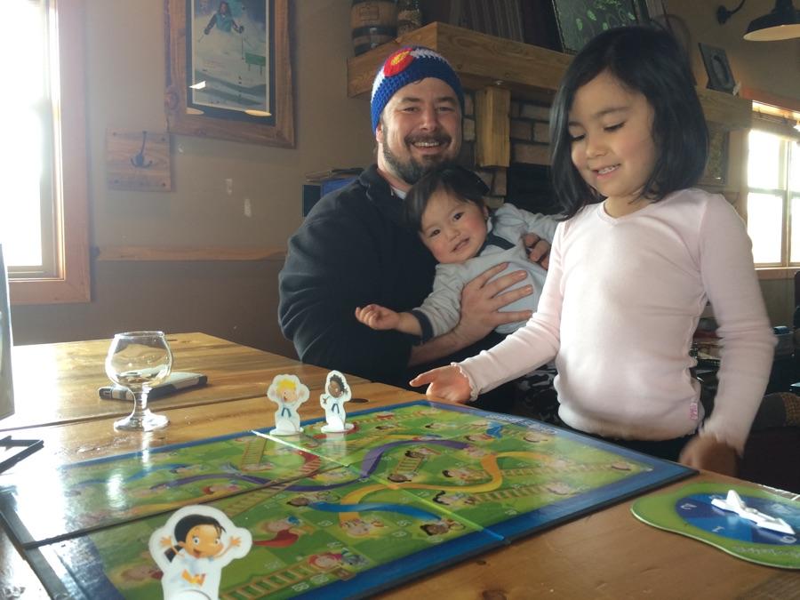 John and kids